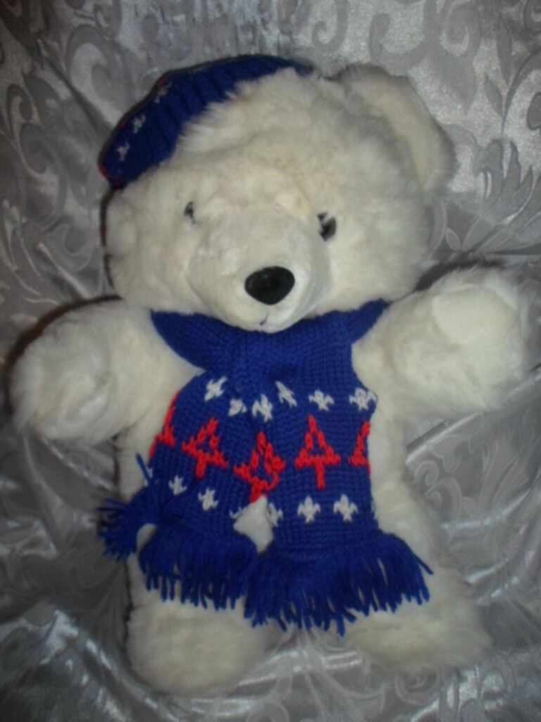 1996 Limited Ed Teddy Bear 10th Anniversary 19  Plush Soft Toy Stuffed Animal