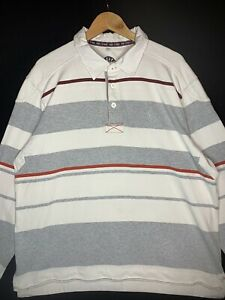 FATFACE-Men-039-s-Cotton-Striped-Sweatshirt-Rugby-Shirt-Size-2XL-K2