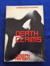 DEATH CLAIMS - FIRST EDITION BY JOSEPH HANSEN