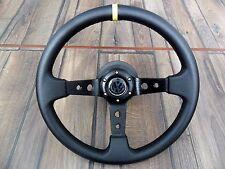 VW Golf Mk3 Corado Sport Deep Dish Leather Steering Wheel 350MM