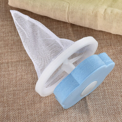 1//2PCS Hair Lint Fluff Grabbing Washing Machine Laundry Ball Remover Filter Bags