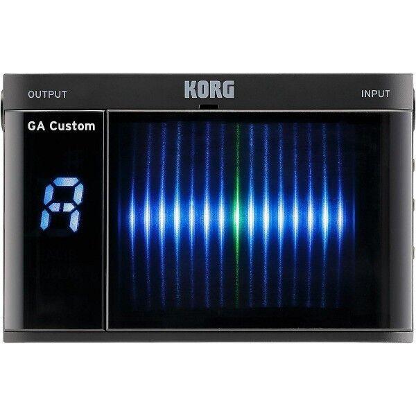 Korg Korg Korg GA Personalizado cromática Guitar Tuner 3D Display Ga-CS 95ac45