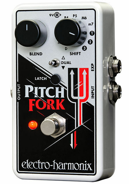 NEW  Electro-Harmonix Pitch Fork Polyphonic, FREE 2-3 DAY SHIPPING  pitchfork