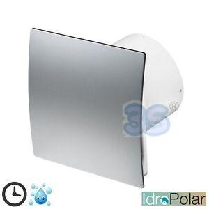 Ventilatore aspiratore bagno 100 mm timer igrostato - Aspiratore bagno umidita ...