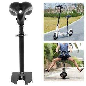 Adjustable-Electric-Foldable-Seat-Shock-Saddle-For-Xiaomi-M365-Scooter-Black-New
