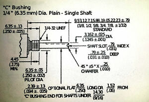 "BOURNS 82C1A-E28-B25 5/8"" Square 1/2watt Single Turn Potentiometer 1M 1Meg 500mW"