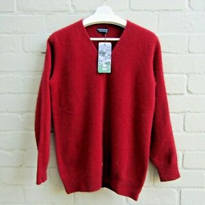 Possum Merino Wool Luxury Women's Jumper size XL