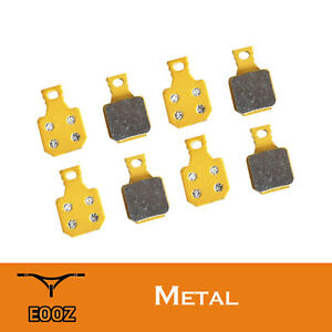 4 Pairs Bicycle Brake Pads Semi Metallic For Magura MT5 and MT7 4-Piston