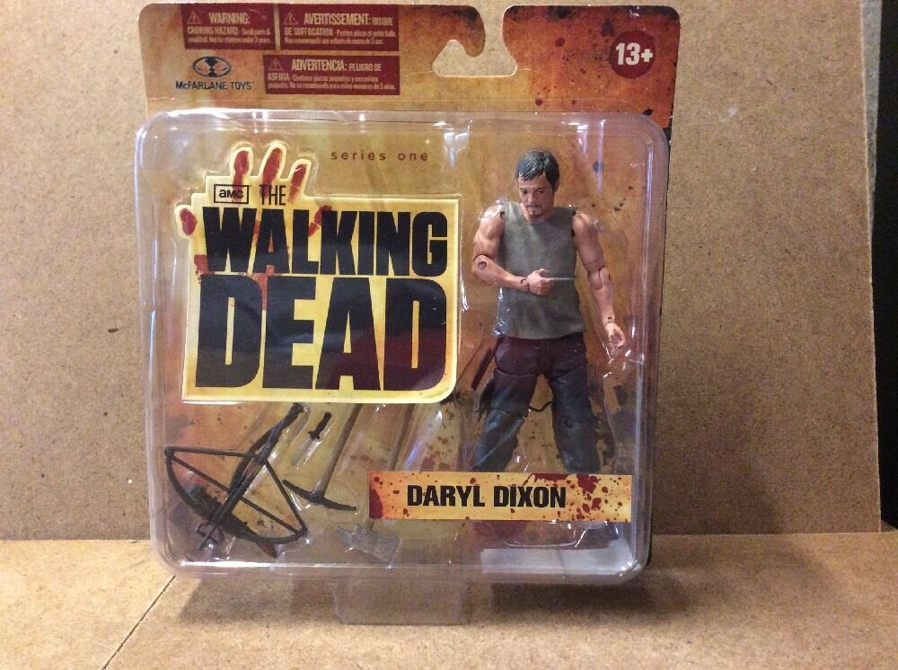 AMC The Walking Dead Series 1 Daryl Dixon MOC Sealed Action Figure Mcfarlane Toy