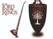 Gandalf Smoking Pipe for Tobacco Long Churchwarden LOTR Tree of Gondor Engraved