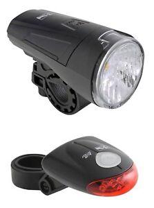 fahrrad led beleuchtung licht stvzo tauglich inkl batterien 1 watt vorderlicht ebay. Black Bedroom Furniture Sets. Home Design Ideas