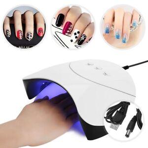 36w led timer dryer lamp 12pcs leds uv gel polish nail art