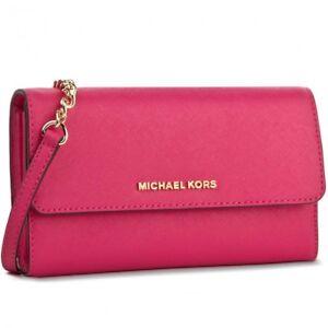 4cd3178a6a4e5 Image is loading Michael-Kor-Large-Phone-Crossbody-Wallet-Handbag-Ultra-