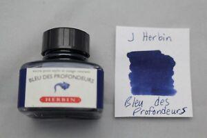J-HERBIN-BOTTLED-FOUNTAIN-PEN-INK-30ML-BLEU-DES-PROFONDEURS