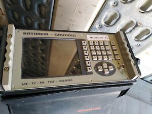 Kathrein-messempfanger-msk33-q-Appareil-de-mesure-de-collection-musee-avec-mode-d-039-emploi