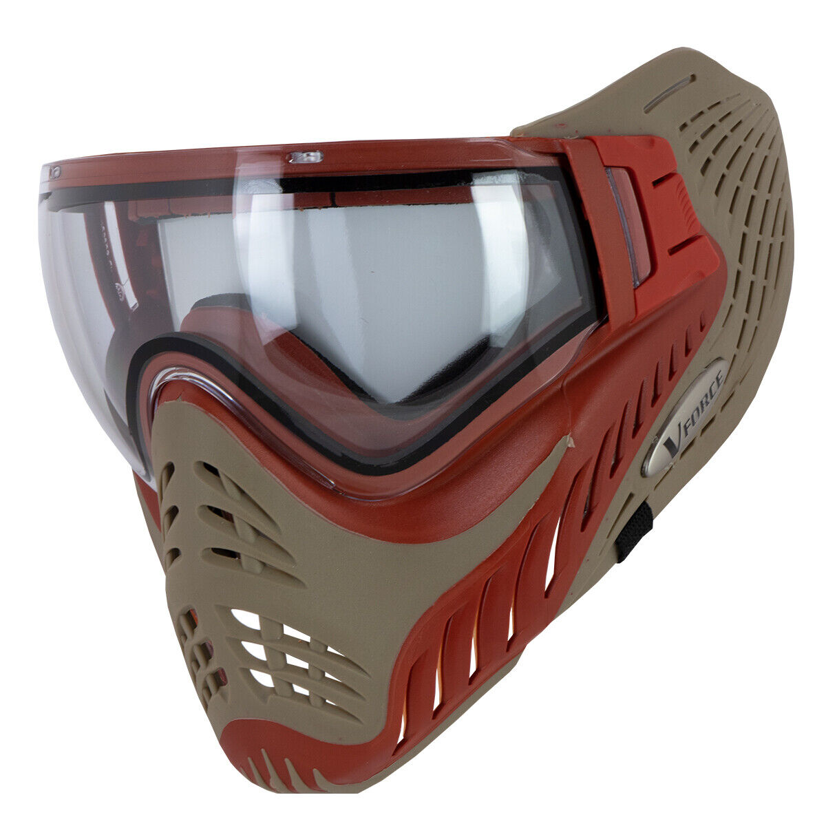 VForce Profiler Paintball Goggles - Sunfire - Red   Tan