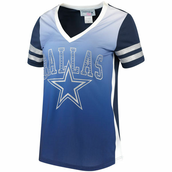 NFL Dallas Cowboys Women s Calloway Jersey T-shirt X-large  fd4a6082b