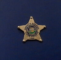 Cook County Il Illinois Deputy Sheriff Mini Badge Lapel Pin (police)