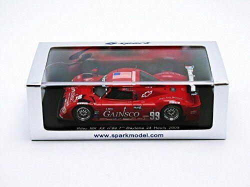 Riley Mk Xx  99 7th Daytona 2009 Fogarty   Gurney  Vasser   Johnson 1 43 Model