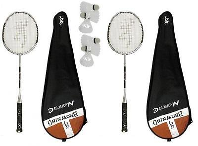 6 navettes Carlton rrp £ 230 BROWNING Stealth CTI 75 badminton raquette