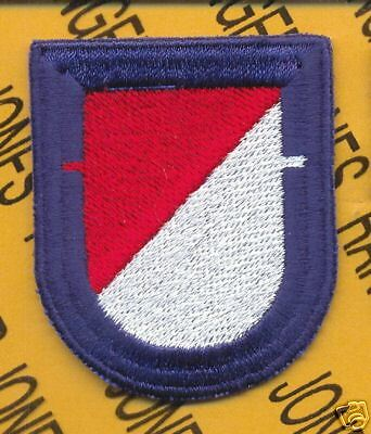 C Co 4th Bn 23rd Airborne Arctic 172 Infantry beret flash patch B