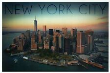 Manhattan Skyline New York City NY One World Trade Center Freedom Tower Postcard