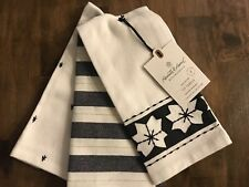 Hearth Hand Magnolia Black Red White Plaid Hand Towel Holiday Christmas Winter