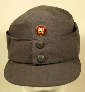 e8eb31fcc7b Finnish Finland Army M 65 Field Utility Dress Hat Cap W  Officer ...