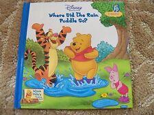 Disney's Winnie the Pooh Where Did the Rain Puddle Go # 10 Hard Cover Book