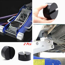 2x 7535mm Jacking Tool Trolley Jack Pad Adapter Rubber Slotted Frame Rail Floor Fits 1997 Toyota Corolla