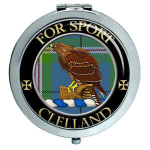 Cleland Schottische Clan Kompakt Spiegel