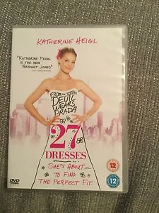 27 Dresses DVD 2008 - <span itemprop='availableAtOrFrom'>Willenhall, United Kingdom</span> - 27 Dresses DVD 2008 - Willenhall, United Kingdom