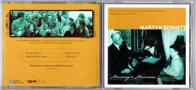Folk-Martyn Bennett-MacKay's Memoirs CD