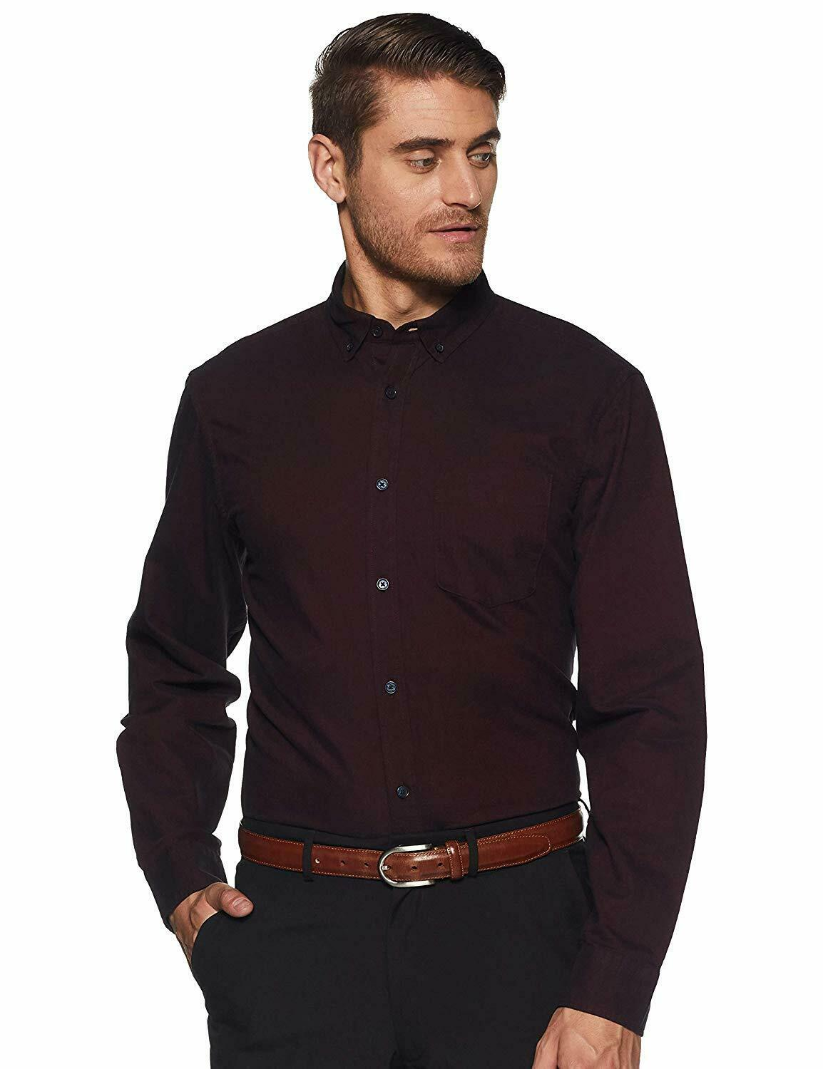 Shirt Nick and Jess for Men Pure Cotton Regular fit Formal with Long Sleeves