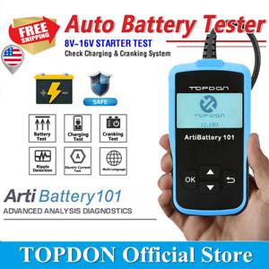 TOPDON-ArtiBattery-101-Car-Battery-Tester-Crank-Charging-System-Auto-Analyzer