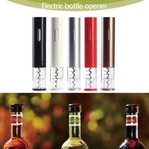 Elektrisch-Wein-Flaschenoeffner-Korkenzieher-Automatisch-Champagner-Werkzeug-Kit