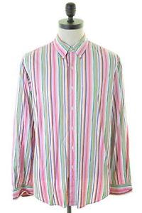 RALPH-LAUREN-camicia-uomo-in-cotone-multicolore-made-USA-42-16-1-2-Large