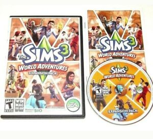 the sims 3 world adventures game complete pc windows mac 2009 expansion 14633153934 ebay