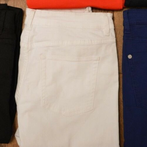 NEXT LADIES MID RISE CROPPED 3//4 MID LENGTH COTTON SKINNY JEANS VARIOUS COLOURS