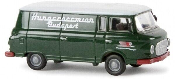 "Barkas B1000 Koffer /""VEB Bitterfeld Holzwurm Auto Modell 1:87 H0 Brekina 30372"