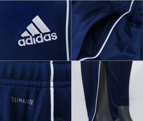 Adidas Men Core 18 Training Long Pants Black Navy Soccer Football Pant CV3988