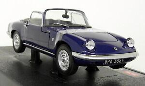 Sunstar-1-18-Scale-4055-1966-Lotus-Elan-SE-Roadster-Royal-Blue-Diecast-model-car