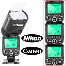 TR-988 TTL Camera Slave Flash Speedlite with *HSS* for Canon & Nikon