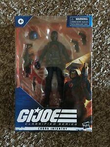 """GI Joe Classified Cobra Infantry 6"""" Figure"""