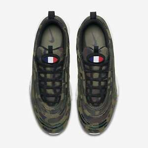 Details about 2018 Nike Air Max 97 County Camo France size 13. AJ2614 200. black bamboo green