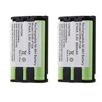 2x Phone Battery For Kx-tg5055 Kx-tg5200 Kx-tg5202 Kx-tg5210 Kx-tg5212 Kx-tg5213