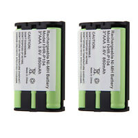 2x Phone Battery For Kx-tg5055 Kx-tg5200 Kx-tg5202 Kx-tg5210 Kx-tg5212 Kx-tg5213