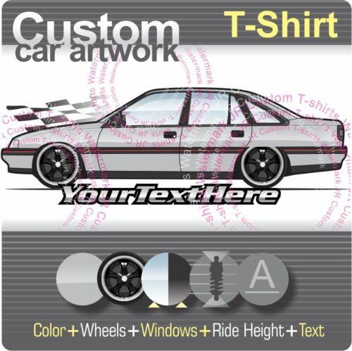 Custom T-shirt 88-91 92-93 Holden VN VP Commodore S SS Berlina LS GTS LX Calais