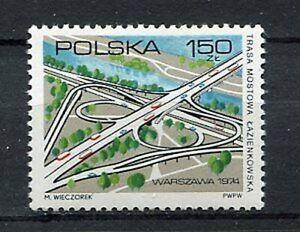 35872) Poland 1974 MNH Lazienkowska Bridge Road 1v