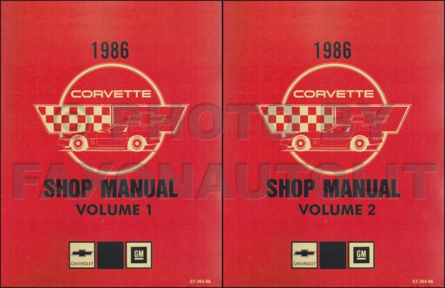 2004 Chevrolet Corvette Service Shop Manual Set Ef55